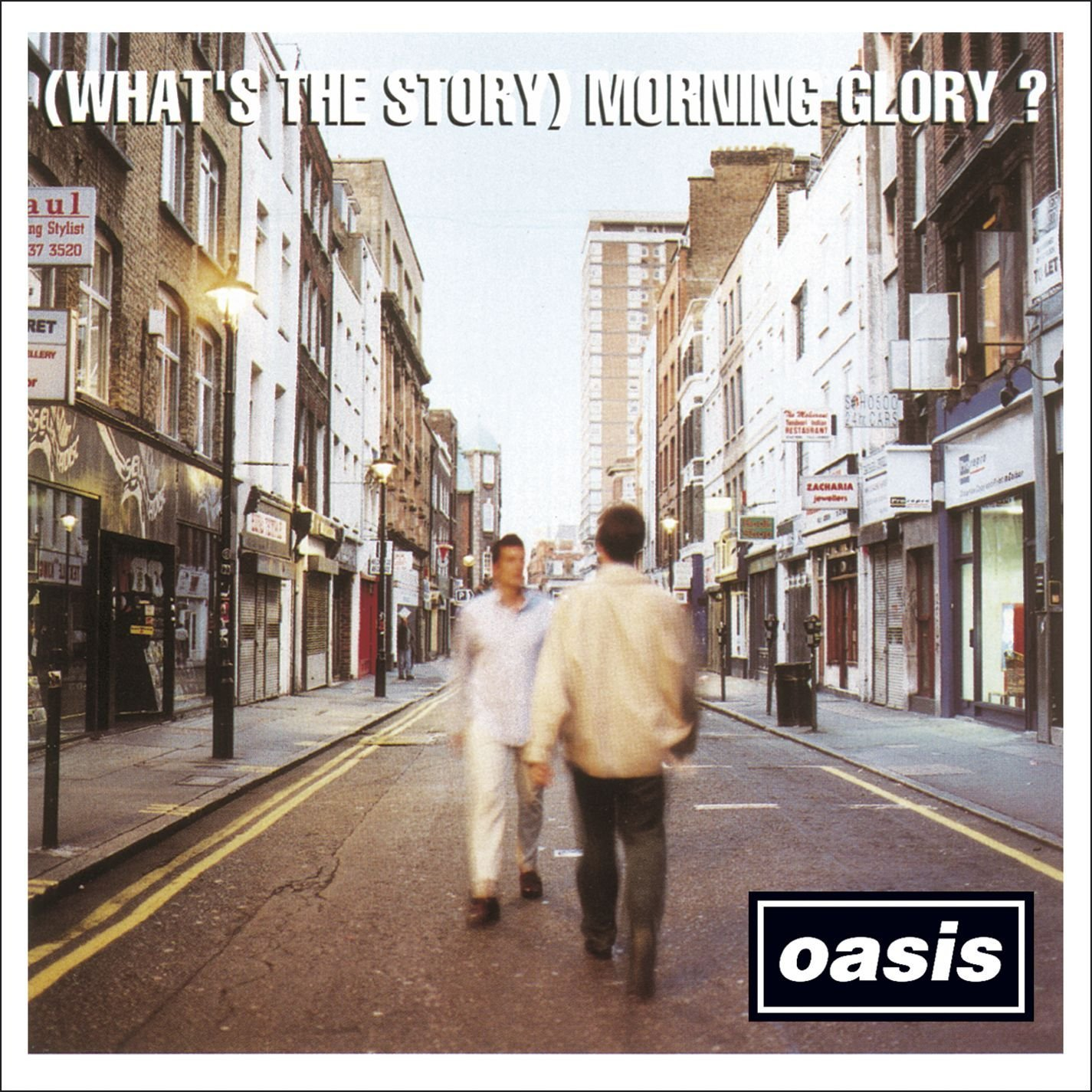 Oasis - morning glory front